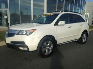 2011 Acura MDX 7 PASSAGERS + CUIR + AWD