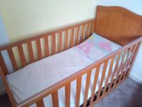 Wooden Cotbed - Mothercare