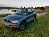 1996 Toyota Rav 4 - permanent 4wd