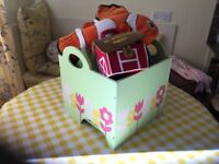 E.L.C.TOY BOX beautiful design wooden and strong