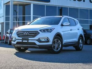 2017 Hyundai Santa Fe Sport AWD Leather Interior 