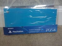 PS4 Custom Coloured Faceplate HDD Cover for Sony Playstion 4 (BLUE)