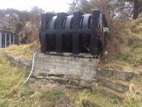 Black oil tank