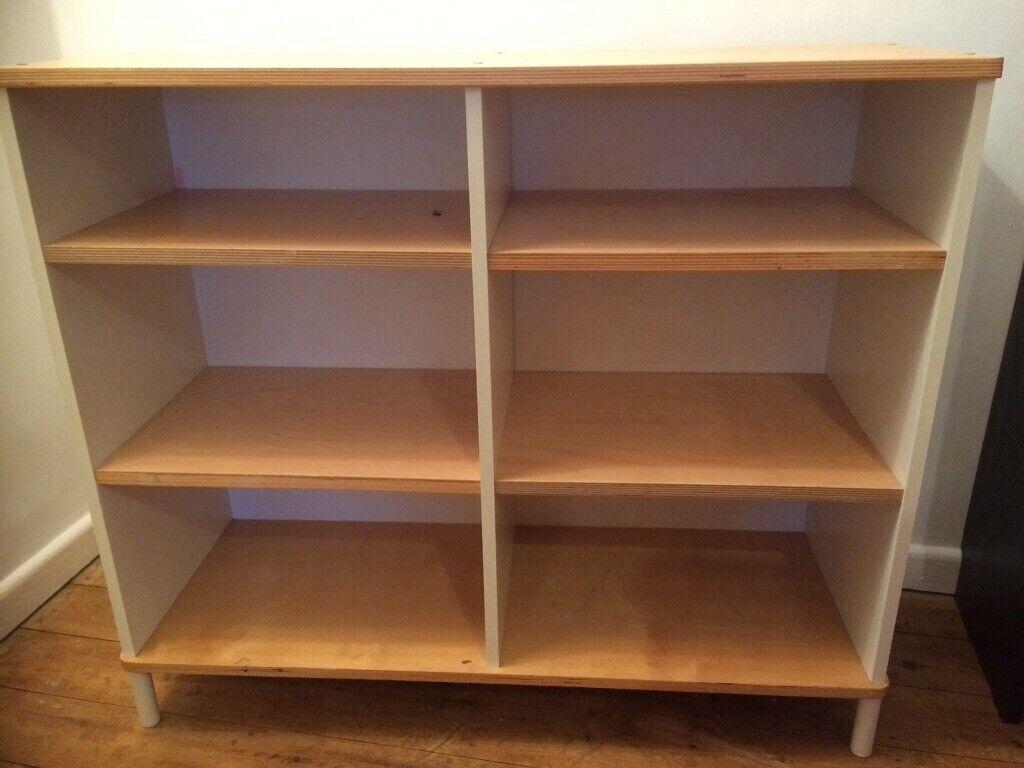 Ikea Shelf Unit Book Case White Beech