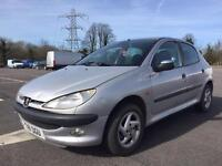 Bargain to clear Peugeot 206 1.6 glx