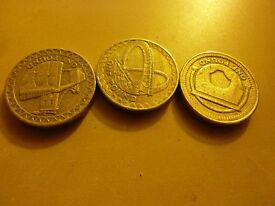 Collectible British Coins, £2s, £1s, 50ps