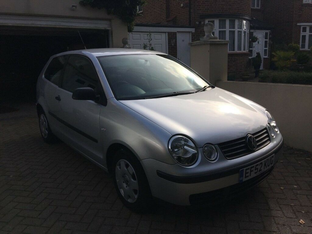VW Polo Silver 2002 Low Mileage - Gentle Previous Owner Great Condition