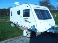 2011 SWIFT FREESTYLE 550 LIMITED EDITION 4 BERTH TOURING CARAVAN