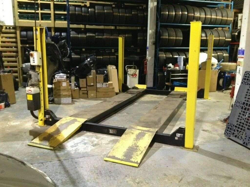 Rotary SM41R 4 Post 4T 4000KG MOT Vehicle Alignment Lift Ramp *Bendpak  Bradbury Cascos Hofmann OMA* | in Billericay, Essex | Gumtree