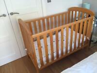 Mothercare Bedside cot bundle