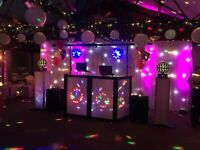 Disco hire and wedding accessories