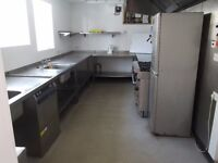 Commercial Kitchen Available - fully equipped