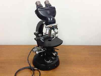 Carl Zeiss - Compound Microscope With Four Objective Lenses