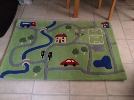 Child's bedroom rug