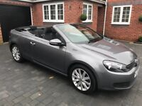 2012 VOLKSWAGEN VW GOLF CONVERTIBLE BLUEMOTION Mk6 - ONLY 32,000 MILES WITH FULL VW SERVICE HISTORY