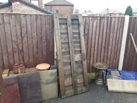 Fence Panel + Gate