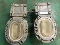 Industrial vintage lights