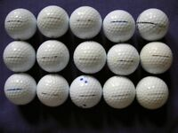 Titleist Pro V Golf Balls - A selection of 15 Pro V golf balls – a bargain at £20