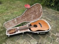 Takamine En-10c vintage 1987 Electro Acoustic Guitar Hiscox Case Vintage iconic tone monster lovely!