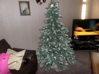Luxury artificial christmas tree 6ft