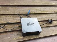 Sky wireless hub router SR102