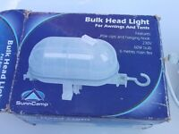 Awning or frame tent light - as new