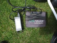 POWAKADDY DIGITAL SPORT LITHIUM BATTERY AND CHARGER