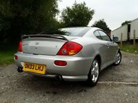 Hyundai coupe **low mileage**
