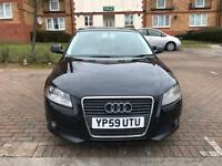 2010 Audi A3 1.6 TDI , £20 Tax a yr, 1 Yr MOT, 2 owners, Mileage 99500, Superb condition