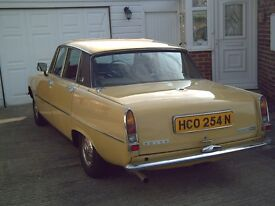 ROVER P6 2200SC. 1975. TAX EXSEMPT. MOT MAY 2017 80935 MILES ONLY