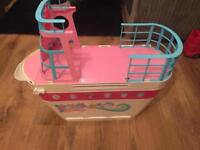 Barbie cruise ship with water slides