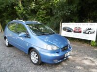 Chevrolet Tacuma CDX Plus Automatic In Blue, 2007 57 reg, MOT