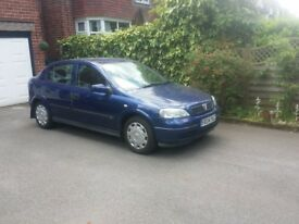Vauxhall Astra 2004 1.4 Manual 2 Owners, FSH, Low Miles