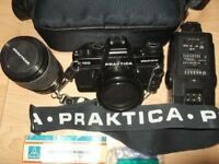 Vintage camera collection – Praktica B100 electronic in an Excellent condition. £50.00