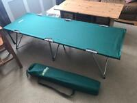 *pending collection*2 x folding camp beds *new* camping - £10 each
