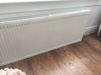 Gas central heating radiators