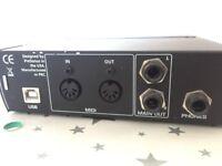 USB recording - Audiobox presonus