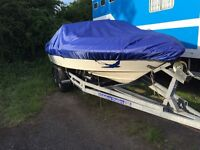 175hp V6 Bayliner Speed Boat & Trailer