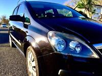 Vauxhall zafira life full main dealer history 77500 miles