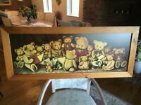 Nursery playroom large teddy bears picture