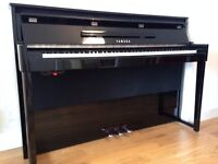 YAMAHA Piano NU1 (Digital Upright Hybrid) + Stool