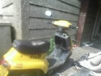 50cc Moto-Roma wasp moped