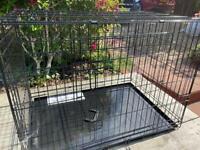 "Dog Cage 36"" L EllieBo Brand New"