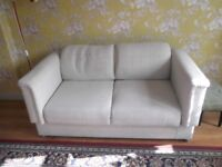 PARKER KNOLL TWO SEATER DROP END RETRO SOFA turns into a 5 seater turns into a bed
