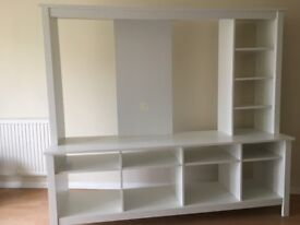 Ikea Tomnas TV Cabinet White
