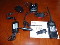 Icom IC-A6E Pro Pack VHF Transeiver - Immaculate