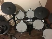 Roland TD20S electronic drum kit with expansion card