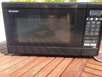Sharp Microwave, 800 W, fully functional