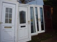 bundle of upvc doors and french doors complete sale
