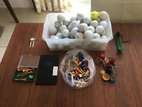 Golf balls and Accessories